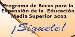 Resultados Becas media superior SEP 2012