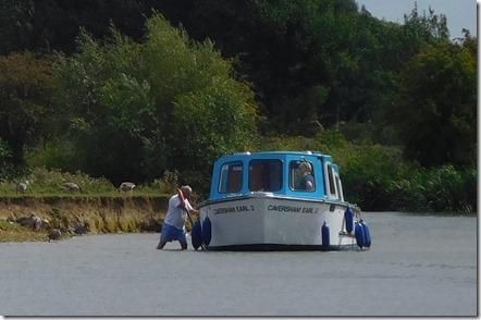 7 aground
