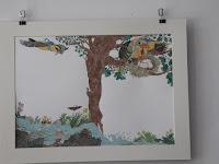 13 Könyvillusztráció a könyvesbolt falán.JPG