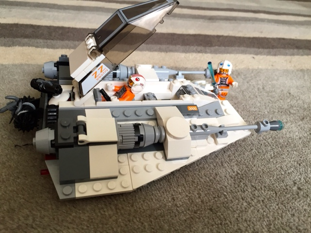 Star Wars Lego Snow Speeder