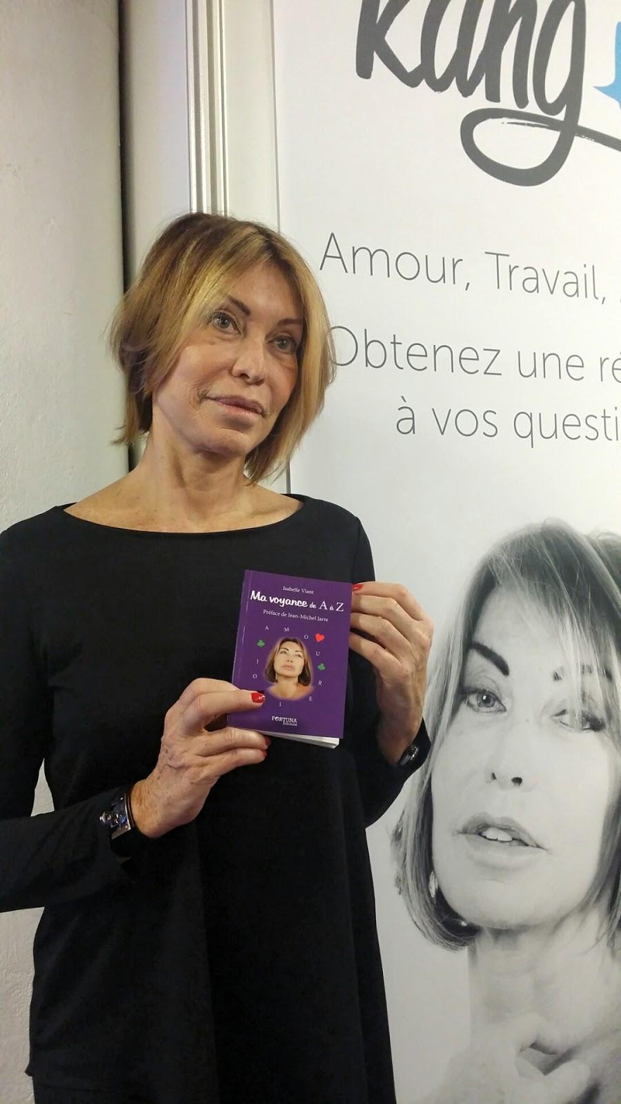 Isabelle Viant Prsente Son Nouveau Livre Ma Voyance De