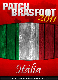 Patch Italia 2011 - Brasfoot 2011