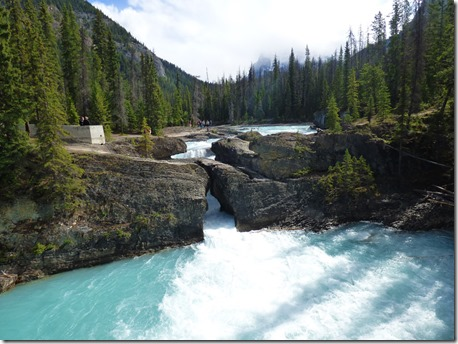 Natural Bridge, Kicking Horse River, Yoho National Park