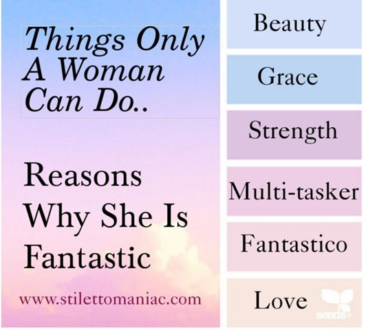 Reasons Why Women Are fantastic
