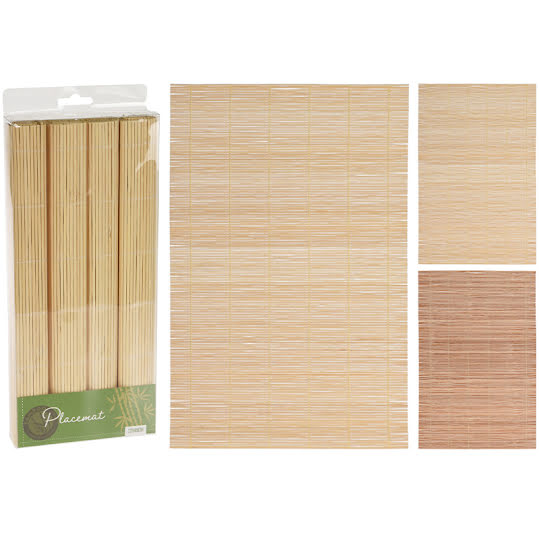 Bordstabletter i Bambu 4-Pack