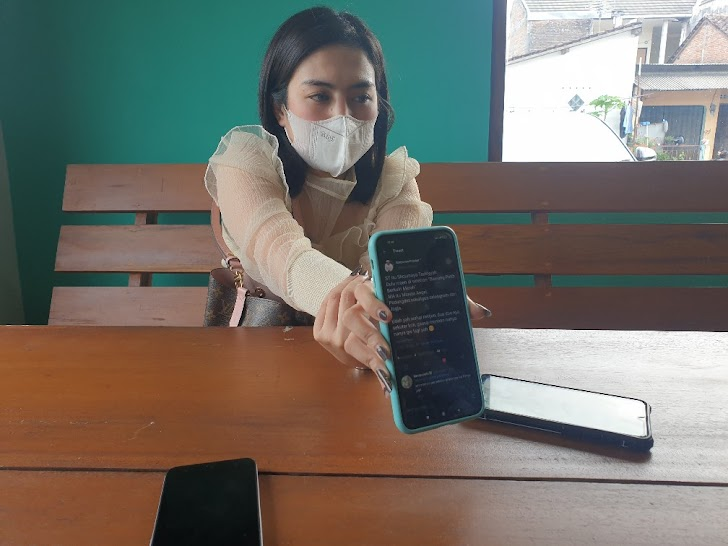 Artis MA Tersangkut Prostitusi Online, Selebgram Mareta Angel : Bukan Saya !