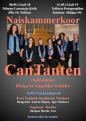 Saksa koori kontsert