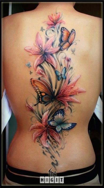 peça_de_volta_flor_tatuagens_com_borboletas