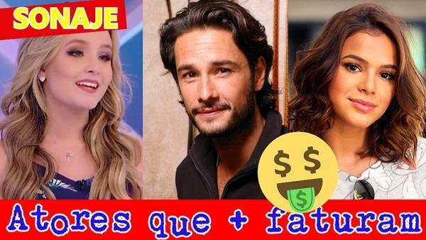 atores que mais ganham dinheiros atuando no brasil