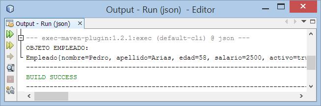 Uso de Jackson 2.x para crear un objeto Java desde un archivo o texto JSON