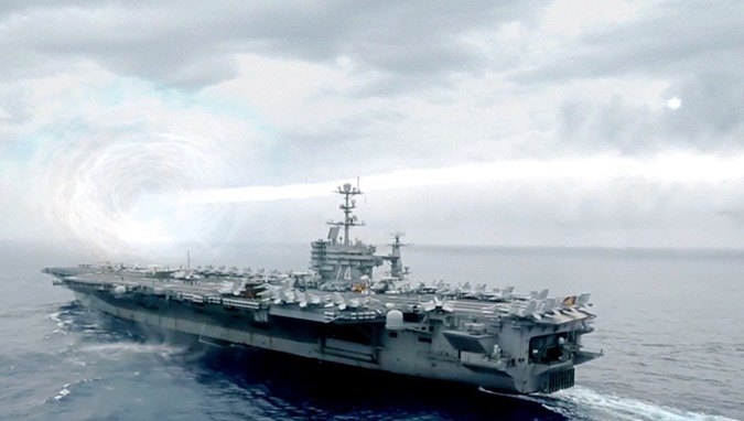 UFO atravessou o Oceano Pacífico 01