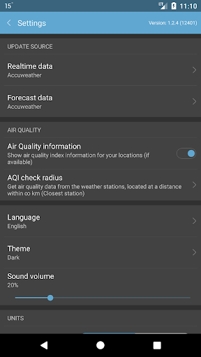 Weather Mate (Weather M8) 1.3.1 screenshots 8