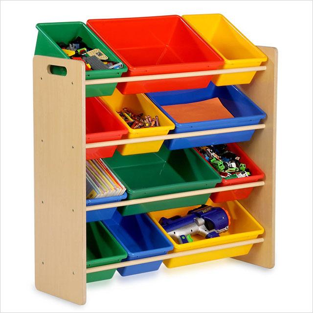 Charmant Kids Toy Storage Bins Organizer Shelves Childrens Playroom Bedroom  Furniture New SRT 01602