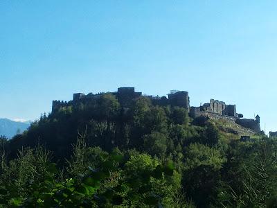 Burgruine Landskron von Norden
