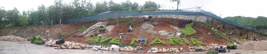 Hình  ảnh nhà thờ Khánh Vĩnh sắp hoàn thiện