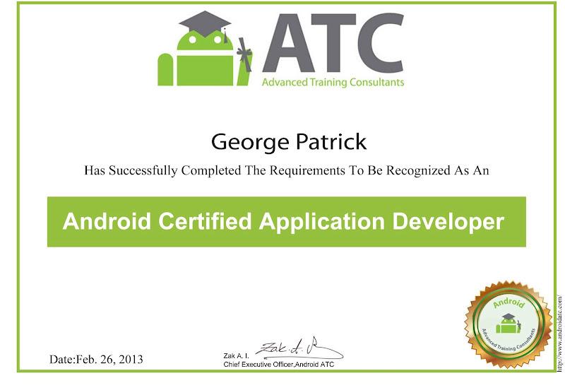 Adam Blake Android Atc Google