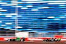 Marcus Ericsson, Caterham CT05 & Sergio Perez, Force India VJM07