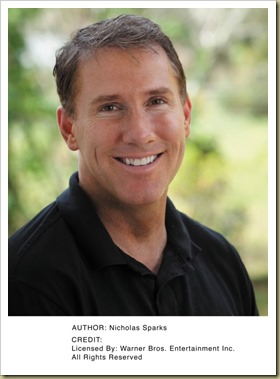 Author Nicholas Sparks - Thoughts in Progress