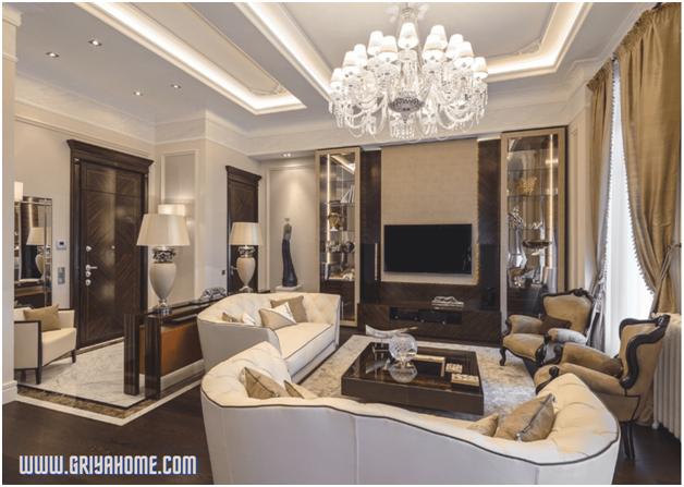 Apartemen Bergaya Klasik di Italian Riviera, Eropa