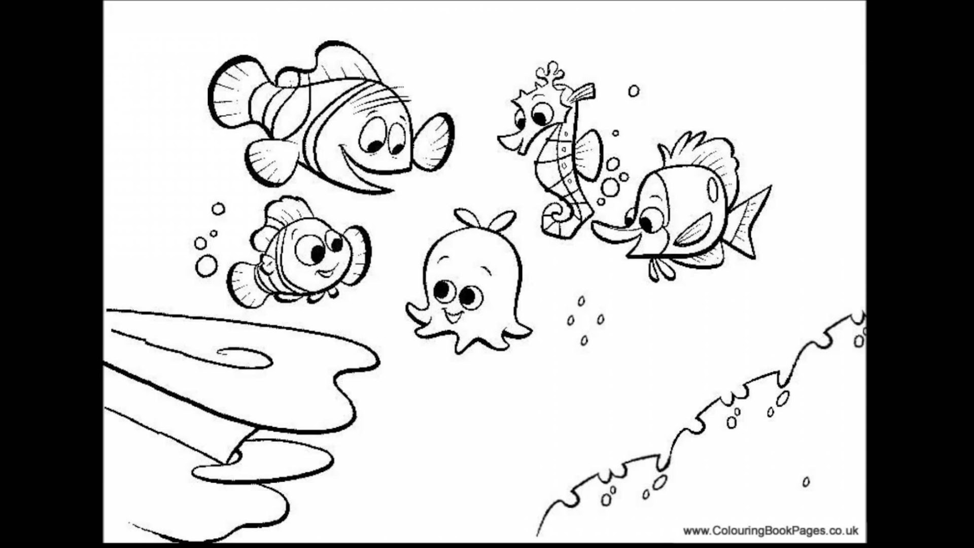 Best Finding Nemo Bruce Coloring Pages Photos