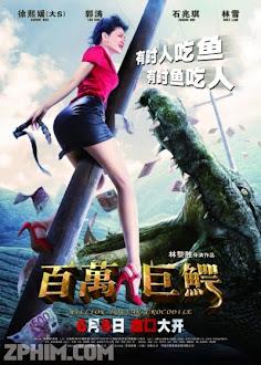 Cá Sấu Triệu Đô - Million Dollar Crocodile (2012) Poster