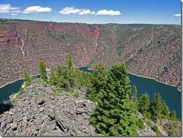 Flaming Gorge at Red Canyon Visitor's Center