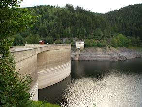 Photo: Tama i zalew na rzece Oker, inaczej: Oker-Stausee.