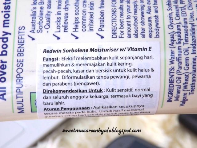 Kulit Sehat dan Lembut dengan Redwin Sorbolene Moisturizer