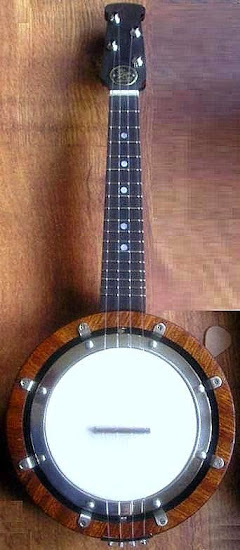 John Grey Bracketless Banjolele banjo at Lardy's Ukulele Database