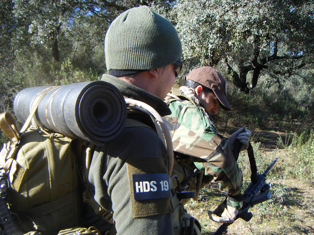 HDS en la Combat training DARK COMPROMISES DSCF7698