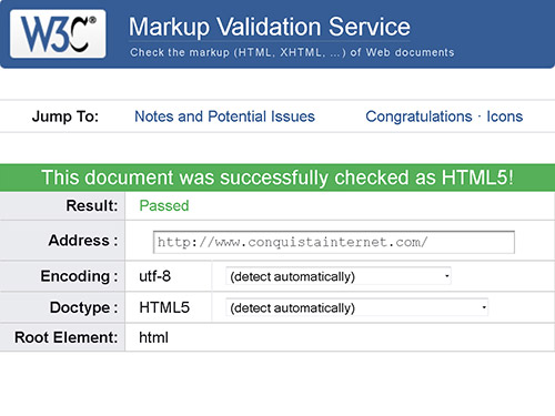 Calificación W3C