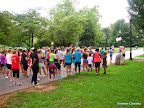 SheMoves 5K runners lining up for their race.