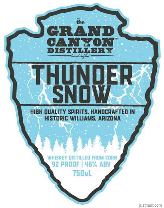 Grand Canyon Distillery Thunder Snow