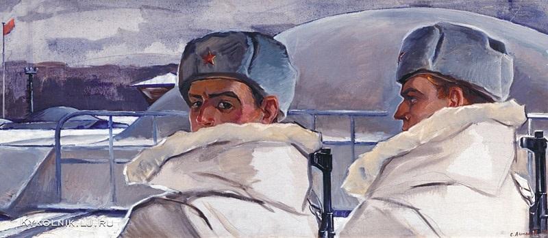 Изобразительное искусство СССР. Солдаты и матросы