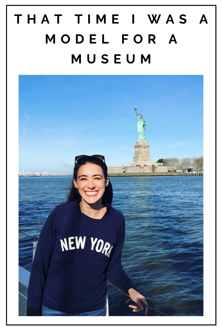 Click to read now or pin to save for later! Check out the fun story of the time when I was a model for a museum in NYC