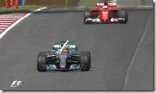 Lewis Hamilton vince il gran premio di Spagna 2017