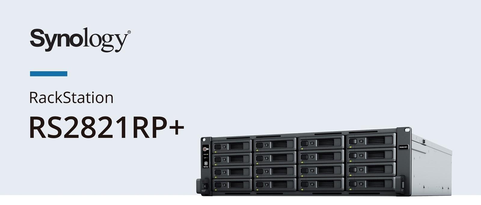 Synology RS2821RP+ สารพัดประโยชน์ ออกแบบมาเพื่อให้ประสิทธิภาพการทำงานสูงสุดในการสำรองข้อมูลโครงสร้างพื้นฐานขนาดใหญ่ระดับธุรกิจ และบริการคลาวด์ส่วนตัว