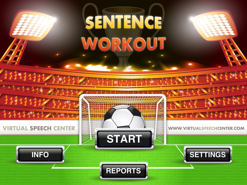 Sentence Workout Main Page