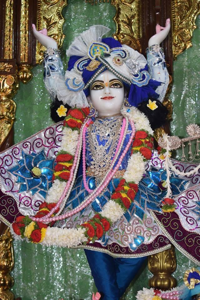 ISKCON Bangalore Deity Darshan 06 Jan 2017 (4)