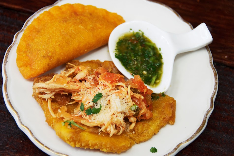 A variety of Colombian bites spice up the South Beach Food Tour. Photo from Miami Culinary Tours.