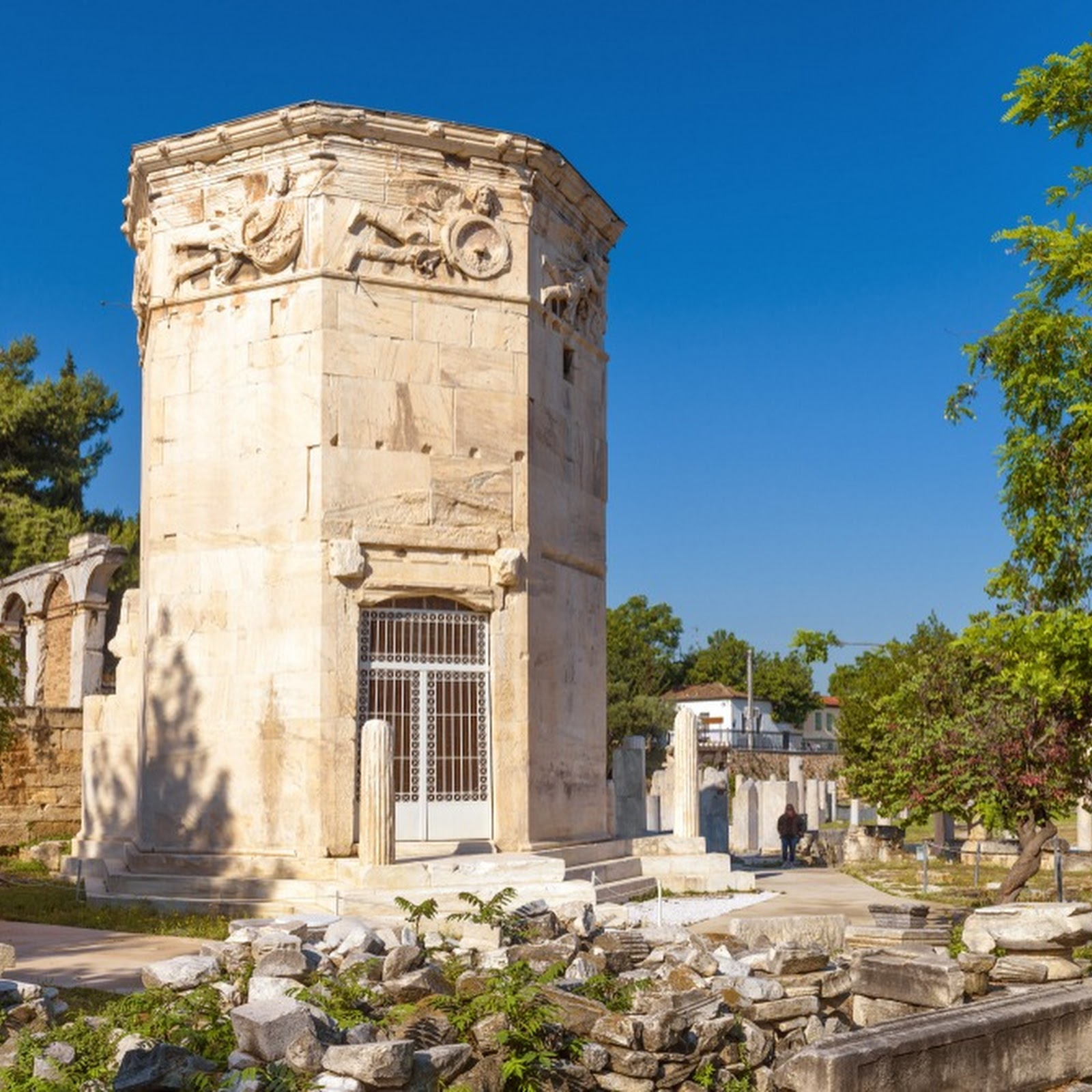 Tower of The Winds: The World's First Weather Station
