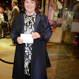 WWW.ENTSIMAGES.COM -  Brenda Blethlyn   arriving at       East is East - press night at Trafalgar Studios London October 16th 2014                                                 Photo Mobis Photos/OIC 0203 174 1069