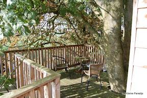 """""""Het kleine Paradijs"""" boomhut het Kraaiennest"""