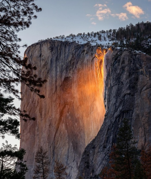 Hinh anh: Thac lua ki vi o Vuon Quoc gia Yosemite California nuoc My