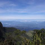 La vallée du Magdalena et la cordillère Centrale depuis le Cerro del Tablazo, 3480 m (Subachoque, Cundinamarca, Colombie), 13 novembre 2015. Photo : J.-M. Gayman