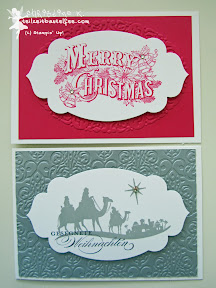 case a christmas card, stampin up, come to bethlehem, christmas postcard, apothecary accents