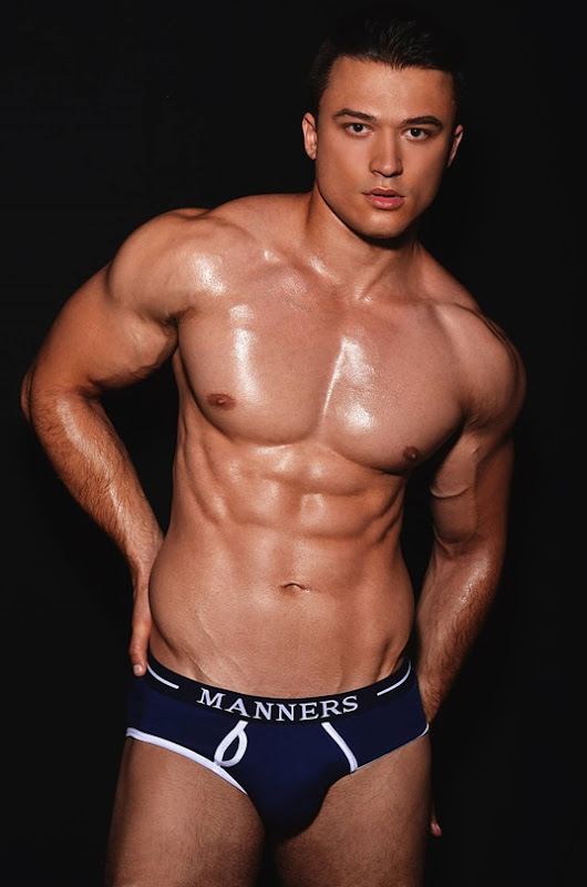 Sexy Guy in Manners Briefs