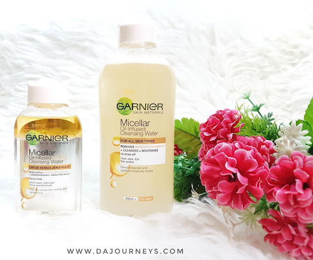 [Review] Garnier Micellar Oil-Infused Cleansing Water