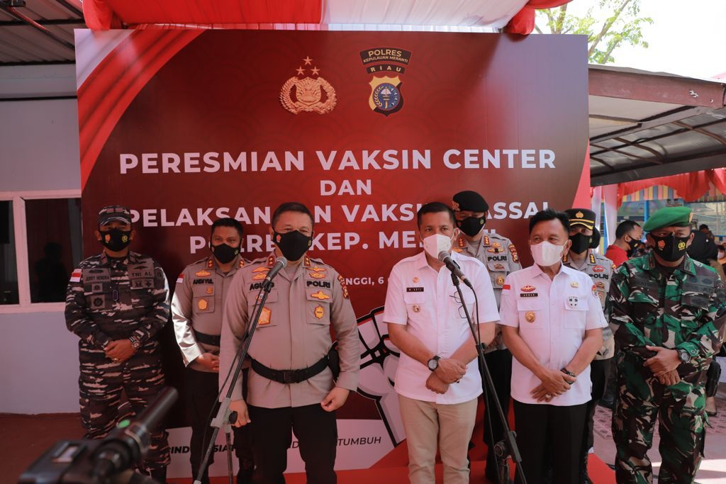 Aplikasi BSR Polda Riau Sukses Tekan Angka Positivity Rate Menjadi 1,4 Persen