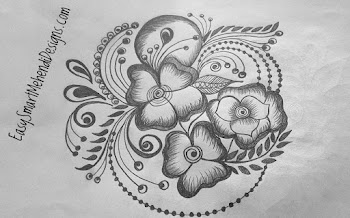 Flower Mix Tattoo Design